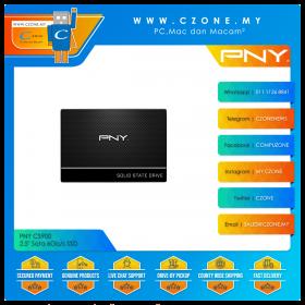 """PNY CS900 480GB 2.5"""" Sata 6Gb/s SSD (R: 550Mbps, W: 500Mbps)"""