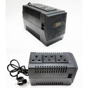 Power Logic Koss Activa A-80V AVR (800VA, 3x Sockets, Surge Protection)