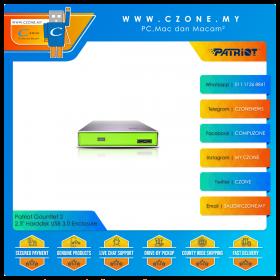 """Patriot Gauntlet 2 2.5"""" Harddisk USB 3.0 Enclosure"""