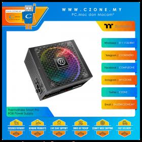 Thermaltake Smart Pro 750 RGB Power Supply (750 Watts, 80plus Bronze, Fully Modular)