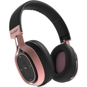 Blueant Pump Zone Over-Ear Wireless Sports Headphones (Rose Gold)
