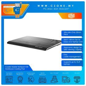 "Cooler Master Notepal I100 Notebook Cooling Pad (Up to 15.4"", Black)"