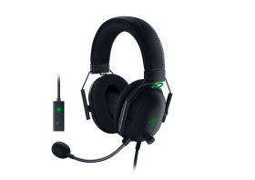 Razer Blackshark V2 Wired Gaming Headset With USB Sound Card (Black)