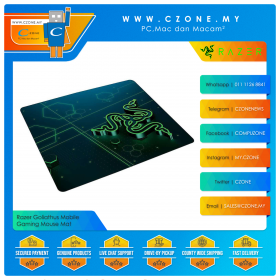 Razer Goliathus Mobile Gaming Mouse Mat (Soft, Small, 270 x 215 x 0.4 mm)