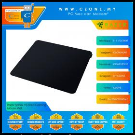 Razer Sphex V3 Hard Gaming Mouse Mat (Hard, Large, 450 x 400 x 0.4 mm)