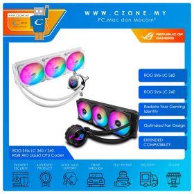 ROG Strix LC 360 / 240 RGB AIO Liquid CPU Cooler