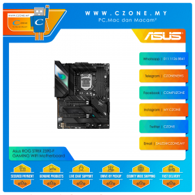 Asus ROG STRIX Z590-F GAMING WIFI Motherboard (Chipset Z590, WiFi+BT, ATX, Socket 1200)