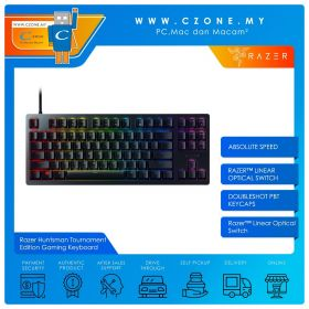 Razer Huntsman Tournament Edition Gaming Keyboard (Linear Optical Switch)