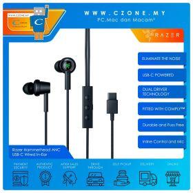 Razer Hammerhead ANC USB-C Wired In-Ear Gaming Headphones