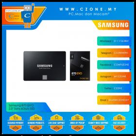 "Samsung 870 EVO 250GB / 500GB 2.5"" Sata 6Gb/s SSD (R: 560Mbps, W: 530Mbps)"