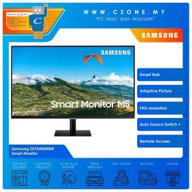 "Samsung S27AM500NE Smart Monitor (27"", 1920x1080, VA, 60Hz, 8ms, HDMI x2, Speakers, VESA)"