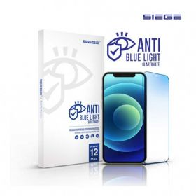 Siege Glastimate Anti Blue Light Full Cover Tempered Glass iPhone 12 Series