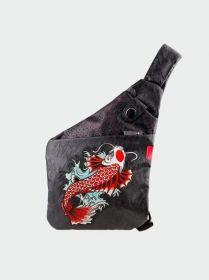 """Skin Arma Jet Karp Cross Slinger Bag (Fits 7.9"""" Tablet, Black)"""