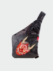 """Skin Arma Oni Cross Slinger Bag (Fits 7.9"""" Tablet, Black)"""