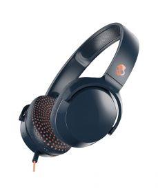 Skullcandy Riff On-Ear Wired Headphones (Blue/Sunset)