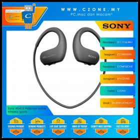 Sony WS413 Walkman In-Ear Wireless Sports Headphones (Black)