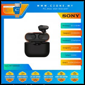 Sony WF-1000XM3 Noise Cancelling True Wireless In-Ear Headphones (Black)