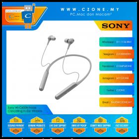 Sony WI-C600N Noise Cancelling In-Ear Wireless Headphones (Grey)