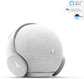 Motorola Sphere+ 2 in 1 Bluetooth Speaker With Headset (White)