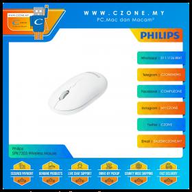 Philips SPK7203 Wireless Mouse (White)