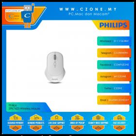 Philips SPK7423 Wireless Mouse (White)