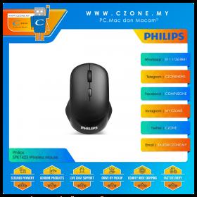 Philips SPK7423 Wireless Mouse (Black)