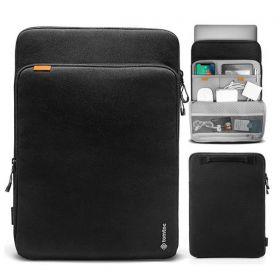 "Tomtoc Premium 360 Protective Laptop Sleeve (Fits MacBook Pro 13"", Black)"