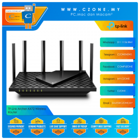 TP-Link Archer AX72 Wireless Router (WiFi6-AX5400, Gigabit)