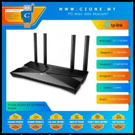 TP-Link Archer AX 23 Wireless Router (WiFi6-AX1800, OneMesh, Gigabit, Black)