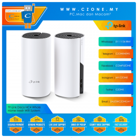 TP-Link Deco HC4 Whole Home Mesh WiFi System (Dual Band-AC1200, 2 Pack)