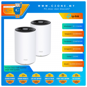 TP-Link Deco X68 Superior Mesh WiFi System (WiFi6-AX3600, 2 Pack)
