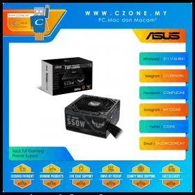 Asus Tuf Gaming 550W Power Supply (550 Watts, 80plus Bronze)