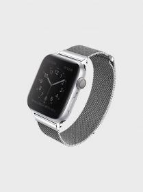 Uniq Dante Mesh Steel Strap (Apple Watch Series 4 44mm, Sterling Silver)