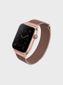 Uniq Dante Mesh Steel Strap (Apple Watch Series 4 44mm, Rose Gold)