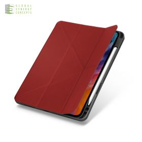 """Uniq Transforma Anti-Microbial Case (iPad Pro 11"""" 2nd Gen, Red)"""