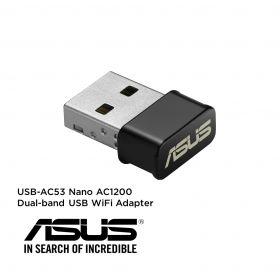 Asus USB-AC53 Nano USB Wireless Adapter (Dual Band-AC1200)