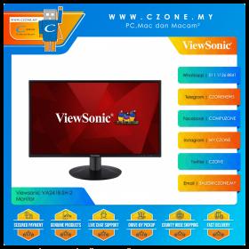 """Viewsonic VA2418-SH-2 Monitor (23.8"""", 1920x1080, IPS, 75Hz, 5ms, D-Sub, HDMI, VESA)"""