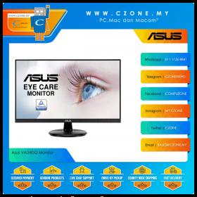 "Asus VA24DQ Monitor (23.8"", 1920x1080, IPS, 75Hz, 5ms, D-Sub, HDMI, DP, Speaker, VESA)"