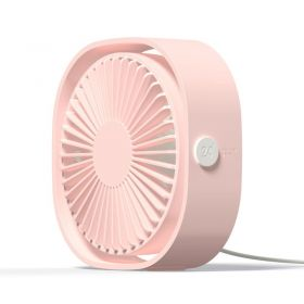 Vareo 312 Natural Wind Portable Fan (Pink)