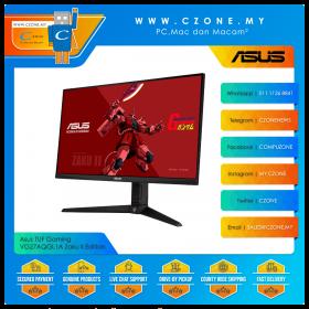 "Asus TUF Gaming VG27AQGL1A Zaku II Edition Gaming Monitor (27"", 2560x1440, IPS, 170Hz, 1ms, HDMI x2, DP, USB3.0 x2, Speaker, VESA)"