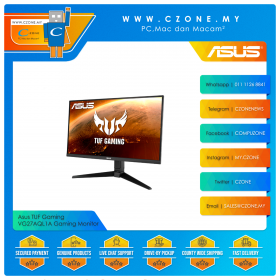 "Asus TUF Gaming VG27AQL1A Gaming Monitor (27"", 2560x1440, IPS, 170Hz, 1ms, HDMI x2, DP, USB3.0 x2, Speaker, VESA)"