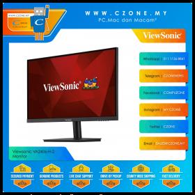 "Viewsonic VA2406-H-2 Monitor (23.8"", 1920x1080, VA, 60Hz, 4ms, D-Sub, HDMI, VESA)"