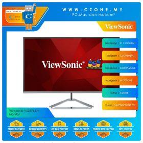 "Viewsonic VX2476-SH Monitor (23.8"", 1920x1080, IPS, 75Hz, 4ms, D-Sub, HDMI, VESA)"