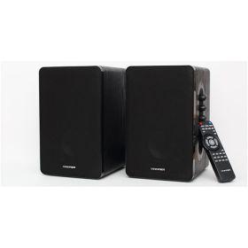 Vinnfier Studio 5 2.0 Bluetooth Studio Speaker (Black, SD Card, USB Support, FM, Remote, Alarm Clock)