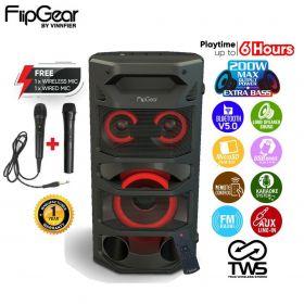 Vinnfier Tango Pro 3 Trolley Portable Bluetooth FM Radio Trolley Speaker