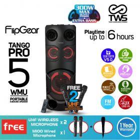 Vinnfier Tango Pro 5 Trolley Portable Bluetooth FM Radio Trolley Speaker