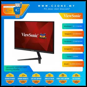 "Viewsonic VX2418-P-MHD Gaming Monitor (23.8"", 1920x1080, VA, 165Hz, 1ms, HDMIx2, DP, Speakers, VESA)"