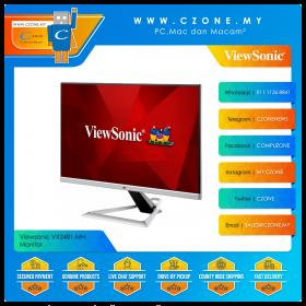 """Viewsonic VX2481-MH Monitor (23.8"""", 1920x1080, IPS, 75Hz, 1ms, D-Sub, HDMIx2, SPK, VESA)"""