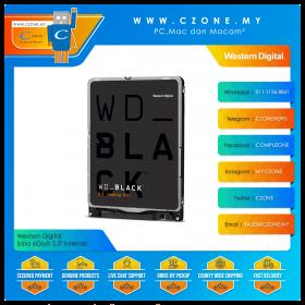 """Western Digital WD5000LPLX 500GB Black 7200RPM Sata 6Gb/s 2.5"""" Internal"""