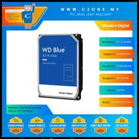 """Western Digital Blue Sata 6Gb/s 3.5"""" Internal"""